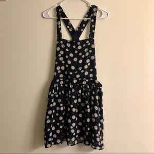 Navy Daisy Jumper Dress